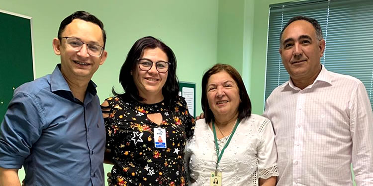 Consórcio Público de Saúde da Microrregião de Tauá - CPSMT e LACEN discutem renovação de parceria com Policlínica