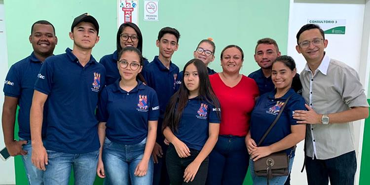 Alunos de Gestão em Saúde da UECE visitam a Policlínica Regional de Tauá