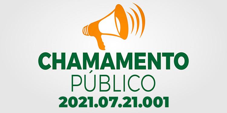 Chamamento Público Nº 2021.07.21.001 - CPSMT